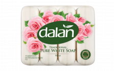 Dalan Traditional Pure White Soap Rose